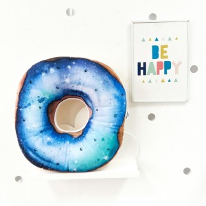 "Фото Подушка Happy Spaces ""Space Donut"""