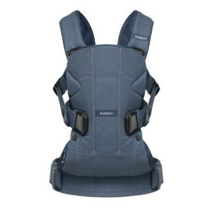 "Фото Рюкзак-кенгуру Babybjorn ONE ""Classic denim/Midnight blue"""