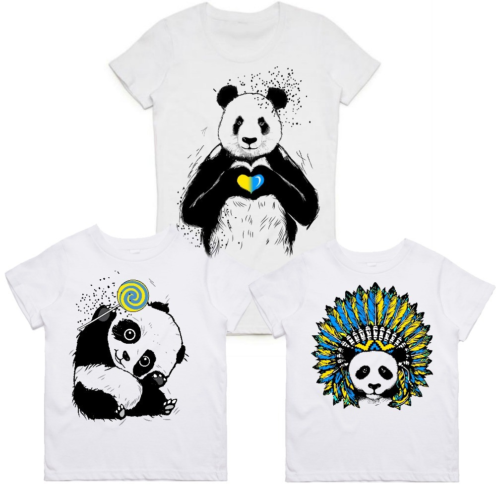 "Family look Balala ""Ukrainian Pandas"""