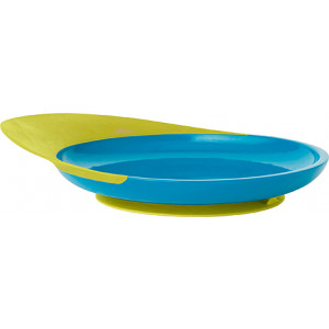 """Фото Плоска тарілка Boon """"Catch Plate Blue"""""""