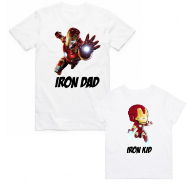 "Фото Family look Balala ""Iron Dad - Iron Kid"""